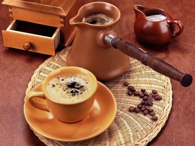 Как сварить правильный кофе в турке