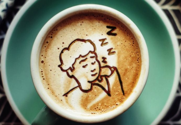 Кофе не бодрит тех, кто мало спит