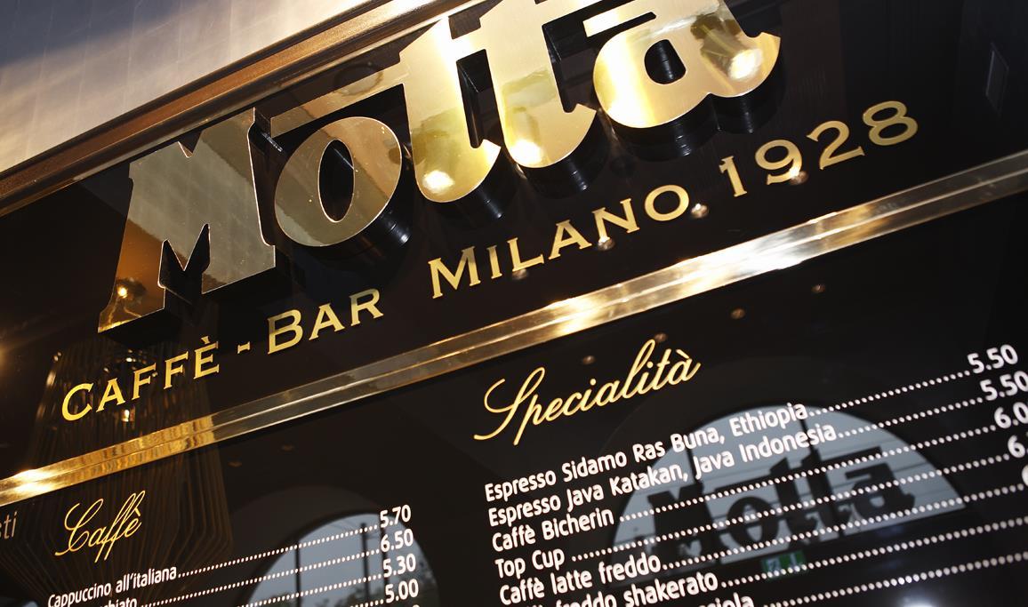 Старинные кафе Милана