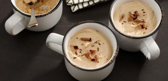 Шоколадно-кофейный мусс – секрет летнего настроения