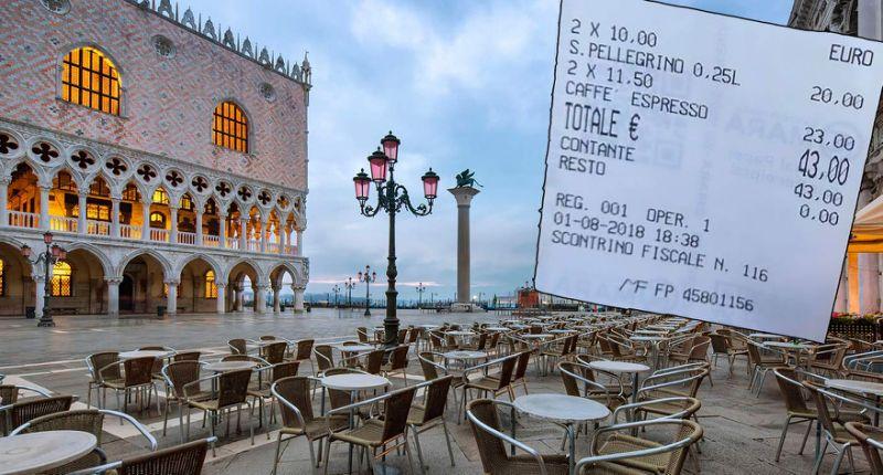 Туриста возмутил слишком дорогой кофе в Венеции