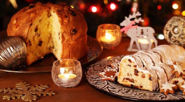 Рождественский кекс панеттоне