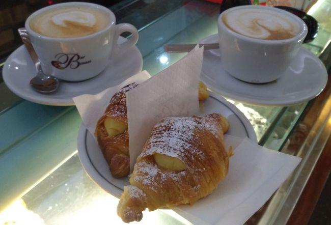 Кофе для местных. Bar Benaco в Риме