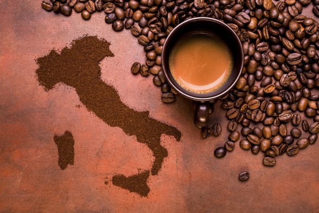 В России растёт спрос на итальянский кофе