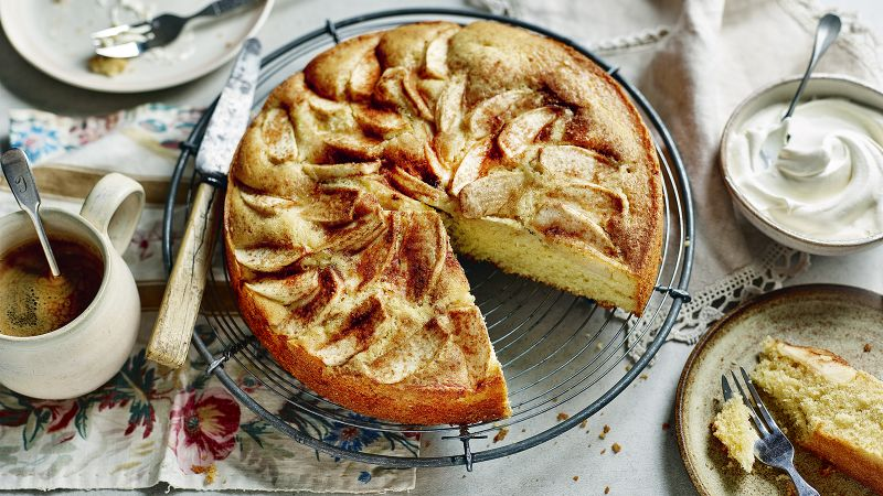 Тосканский яблочный пирог к чашечке Porto Rosso Platino